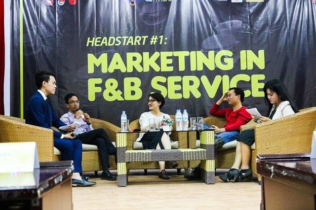 Ba diễn giả định hướng và truyền cảm hứng cho bạn trẻ muốn theo đuổi ngành F&B ở Việt Nam.