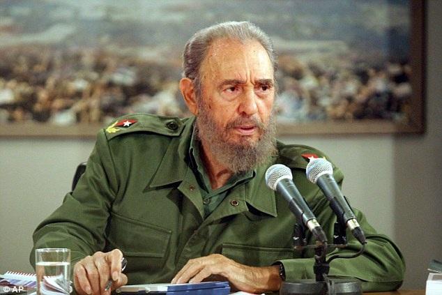 Lãnh tụ Fidel Castro (Ảnh: AP)