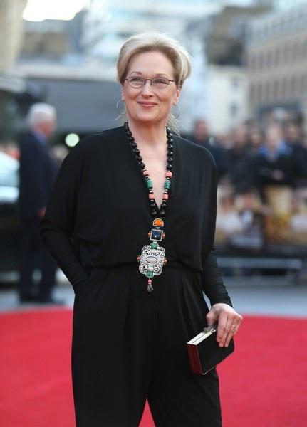 Ngôi sao phim Giai điệu tình yêu Meryl Streep đã bước qua tuổi 67 nhưng vẫn luôn xuất hiện trong các sự kiện với vẻ tươi tắn, thanh lịch và thật sự lôi cuốn