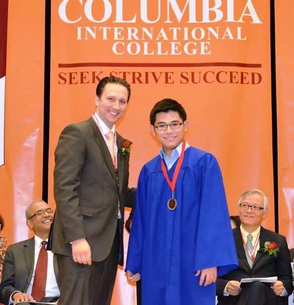 Ngô Đình Hưng - Tốt nghiệp xuất sắc trường Columbia