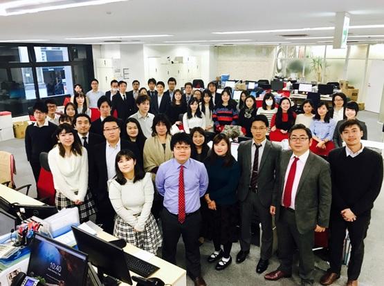 Hình ảnh công ty GTN tại Nhật