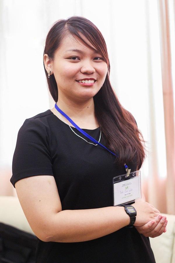 Trần Thị Diệu Liên, sinh viên năm nhất Đại học Harvard.