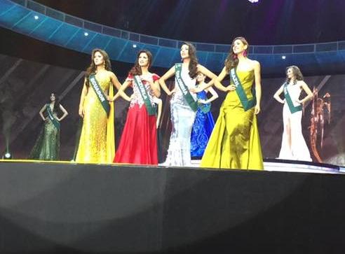 4 cô gái đẹp nhất cuộc thi hoa hậu trái đất 2016