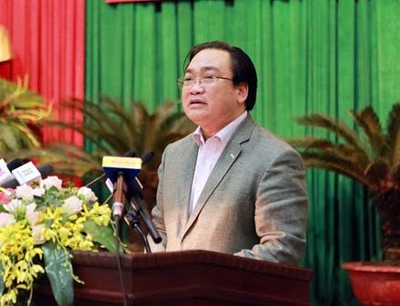 Ông Hoàng Trung Hải - Bí thư Thành ủy Hà Nội cho biết, thời gian tới hai bộ quy tắc ứng xử của Hà Nội sẽ được áp dụng