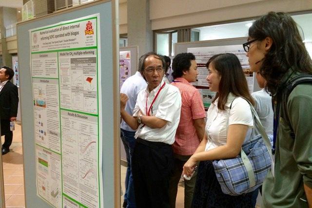 Hội nghị trao đổi học thuật sinh viên Việt Nam - Nhật Bản lần thứ 9 - 4