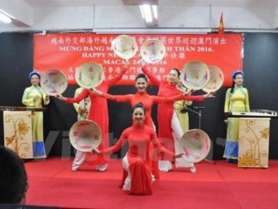 """Giao lưu văn hóa """"Sắc màu nghệ thuật châu Á-2016"""" tại Hong Kong - 1"""
