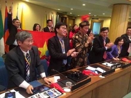 Thực hành Tín ngưỡng thờ mẫu Tam Phủ của người Việt được Unesco ghi danh tại Danh sách Di sản văn hóa phi vật thể đại diện của nhân loại được chọn là sự kiện tiêu biểu của lĩnh vực Văn hoá. Ảnh: TL.
