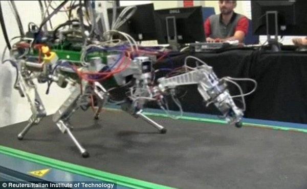 Robot bốn chân HyQ.