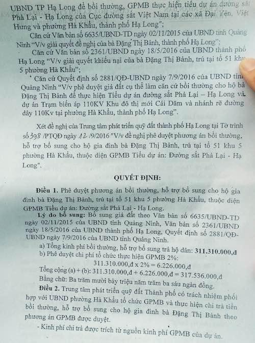"""Quảng Ninh: Đất bị thu hồi nhiều năm, goá phụ """"héo mòn"""" ngóng đợi tiền bồi thường - 2"""