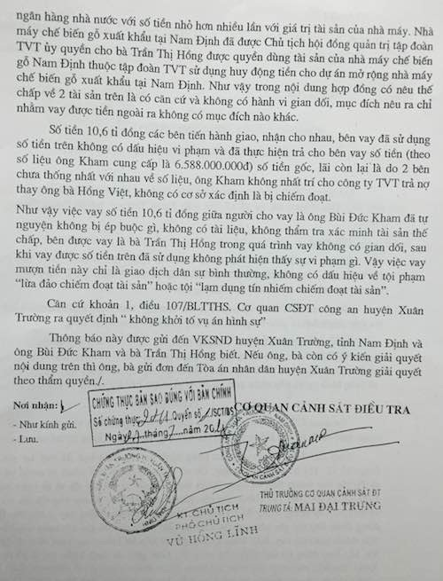 Nam Định: Khởi kiện ra toà vụ tố quỵt nợ nhiều tỷ đồng chấn động phố huyện - Ảnh 3.