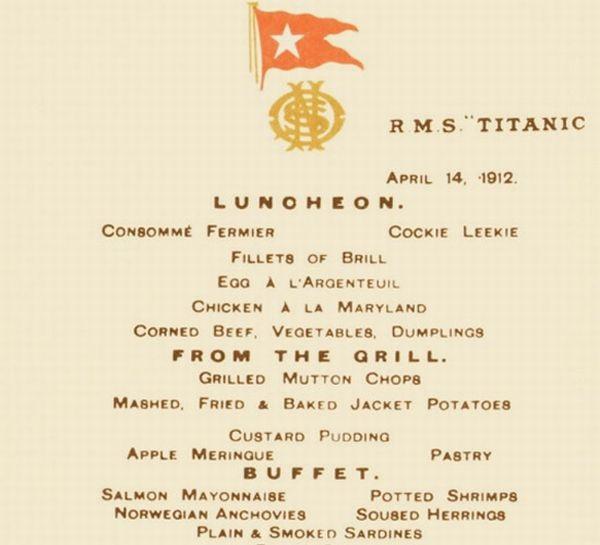 Những món kỷ vật đắt giá nhất của con tàu huyền thoại Titanic - 5