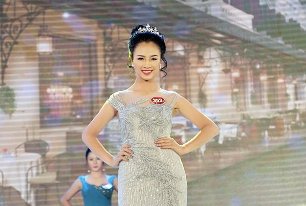 Nữ sinh Văn hóa Nghệ thuật quân đội đăng quang Hoa khôi sinh viên Hà Nội - 9