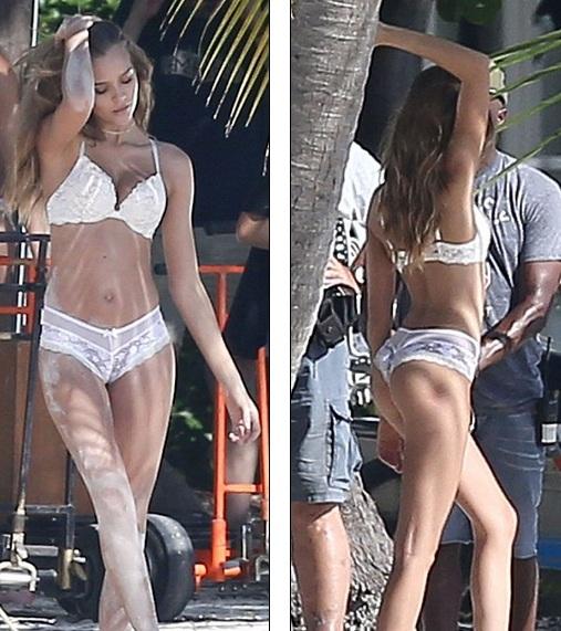 Người đẹp mới được khoác lên vai đôi cánh thiên thần Victorias Secret vào tháng 2/2016
