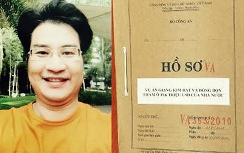 """Đối tượng Giang Kim Đạt và hồ sơ vụ án """"Tham ô tài sản; Rửa tiền"""" xảy ra tại Công ty TNHH một thành viên vận tải Viễn dương Vinashin. (Ảnh: tapchitaichinh)"""