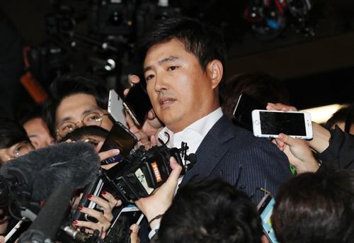 Ông Ko Young-tae, người tình của bà Choi Soon-sil. (Ảnh: Yonhap)