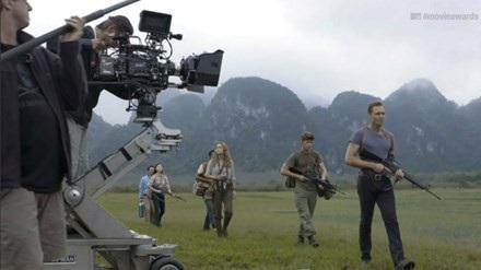 """Lần đầu tiên Hollywood quay bộ phim """"bom tấn"""" Kong: Skull Island tại Việt Nam. Ảnh: TL."""
