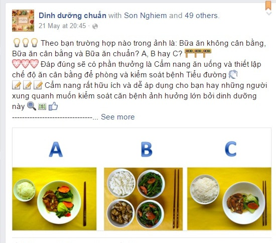 Dự án Dinh dưỡng chuẩn của tiến sĩ 8X Việt có cách tiếp cận thú vị, dễ hiểu.
