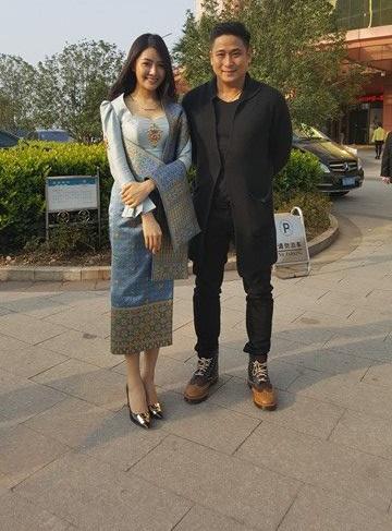 Minh Tiệp kết thân với hoa hậu Lào