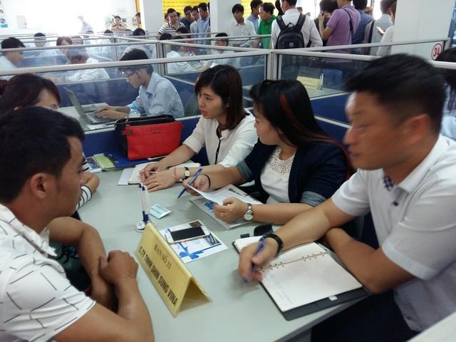 Phiên Giao dịch việc làm dành cho lao động VN từ Hàn Quốc về nước.