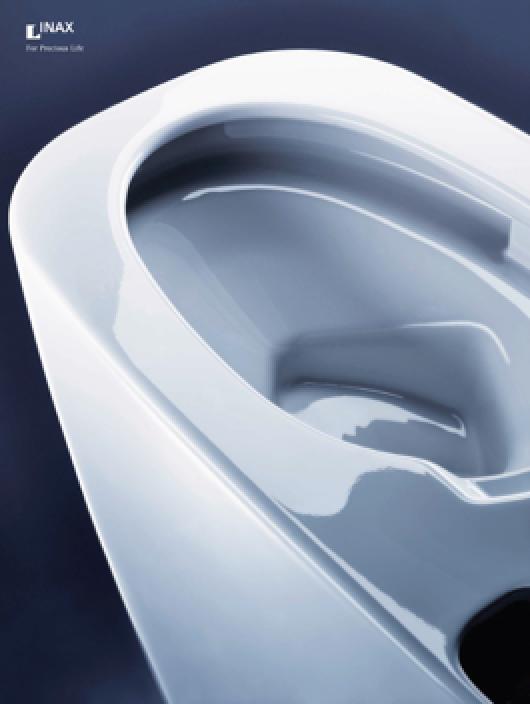 Công nghệ Aqua Ceramic đột phá giúp giữ bề mặt sứ không bám bẩn