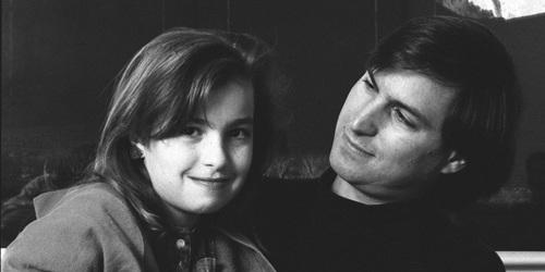 Lisa Brennan-Jobs hồi bé và người cha tài giỏi Steve Jobs