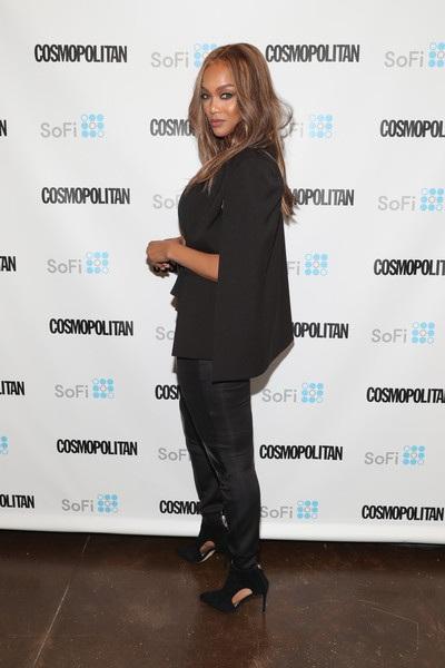 Tyra Banks sở hữu khối tài sản lên tới 90 triệu đô la và vừa đón con trai đầu lòng hồi tháng 1 nhờ phương pháp mang thai hộ.