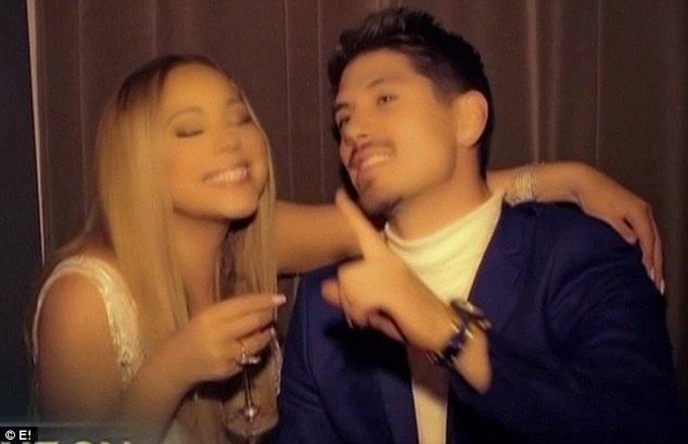 Cặp đôi gặp nhau lần đầu cách đây 10 năm. Khi đó vũ công trẻ Bryan Tanaka đã vô cùng ngưỡng mộ đàn chị Mariah Carey nhưng không mơ có ngày được hẹn hò cùng cô