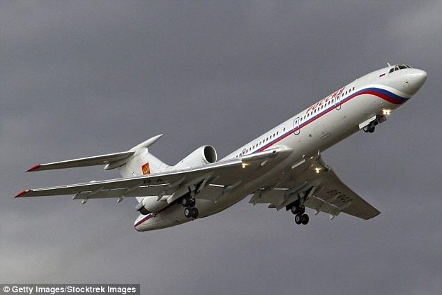 Một máy bay Tu-154 của Nga. (Ảnh: Getty)