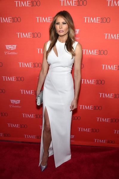 Hình ảnh thanh lịch, nữ tính và sang trọng đã gắn liền với Melania Trump vài năm nay từ khi chồng cô có ý định ra tranh cử tổng thống Mỹ