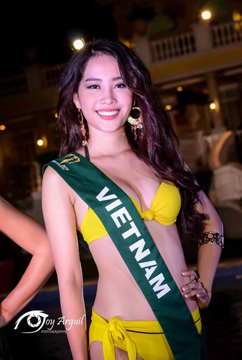 Những hình ảnh đẹp của Nam Em tại cuộc thi Hoa hậu trái đất 2016