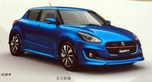 Suzuki Swift thế hệ mới đã tiến sát đến ngày chính thức ra mắt, với hình ảnh cuốn brochure giới thiệu sản phẩm đã rò rỉ trên mạng.