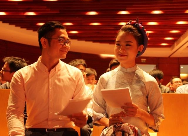 Ngọc Vân cho biết chương trình khiến cô rất nhớ khoảng thời gian mình tham gia các cuộc thi sáng tạo khoa học công nghệ trước đây.