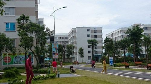 Nhà ở xã hội tại Đặng Xá (Gia Lâm, Hà Nội) từng thu hút khách hàng với giá 300 triệu đồng/căn hộ 35m2. Ảnh: Như Ý.