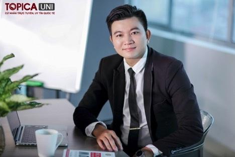 Anh Nguyễn Nghĩa Vượng - Phó quản lý khách sạn Hanoi Delano.