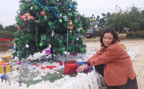 Nếu muốn lưu lại những bức hình đẹp thì vườn hoa Bách Nhật là lựa chọn không tồi trong dịp Giáng sinh này