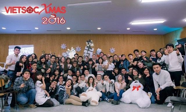 Chương trình đón Noel hoành tráng VietsocXmas của hội sinh viên Việt tại Berlin - Postdam, CHLB Đức