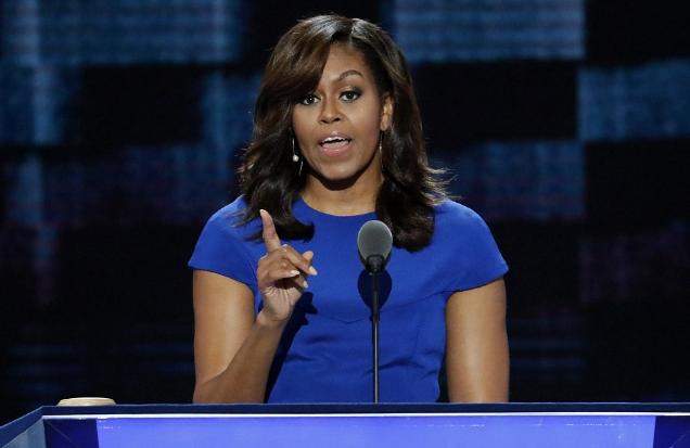 Đệ nhất phu nhân Mỹ Michelle Obama. (Ảnh: AFP)