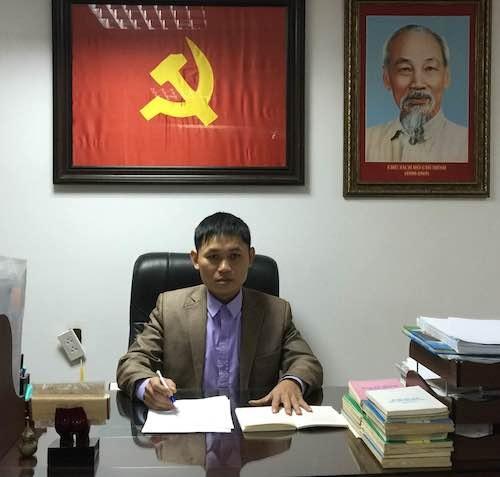 Luật sư Nhâm Mạnh Hà bắt bệnh vụ án án tại quận Tây Hồ.