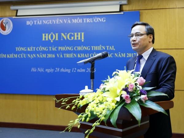 Ông Nguyễn Văn Tuệ- Cục trưởng Cục Khi tượng thuỷ văn và Biến đổi khí hậu