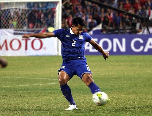 Notchaiya ghi bàn thắng đầu tiên tại AFF Cup năm nay