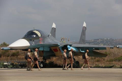Nga điều thêm nhiều máy bay ném bom Su-24. Su-34 đến hỗ trợ căn cứ không quân tại Syria