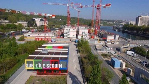 """Đảo Seguin, nơi triển khai dự án """"Ngôi nhà Việt"""". Ảnh do nhân vật cung cấp"""