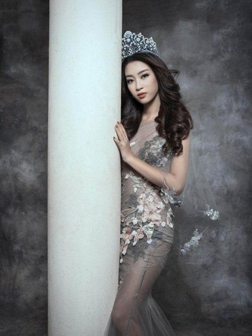 Biến hóa nhan sắc không ngờ của Hoa hậu Mỹ Linh - 1