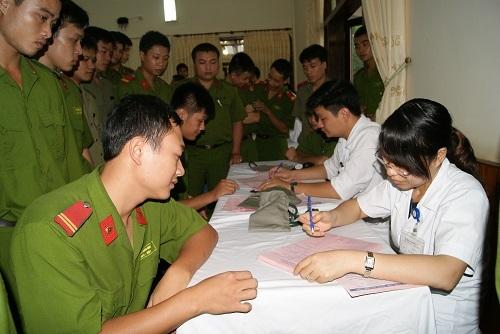 Mức đóng bảo hiểm y tế đối với sĩ quan, chiến sĩ công an nhân dân - 1