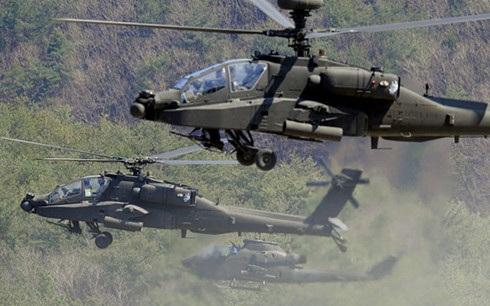Trực thăng chiến đấu Apache. Ảnh: Popular Mechanics.