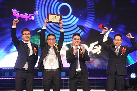 Nhóm đoạt giải Nhất Nhân tài Đất Việt 2013 được tạp chí uy tín của Mỹ vinh danh sau chưa đầy 12 tiếng diễn ra lễ trao giải.