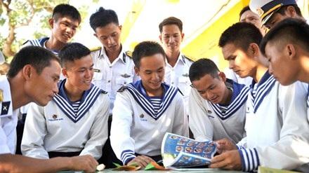 Thanh niên Việt Nam lập nên những chiến công hiển hách, góp phần quan trọng vào sự nghiệp đấu tranh giải phóng dân tộc, xây dựng và bảo vệ Tổ quốc. Ảnh: Xuân Tùng.