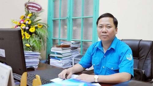 Anh Nguyễn Phi Long, Bí thư T.Ư Đoàn, Chủ tịch Hội LHTN Việt Nam.