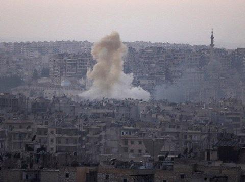 Thành phố Aleppo đã chứng kiến những trận chiến khốc liệt giữa quân đội chính phủ Syria với lực lượng đối lập và nhiều nhóm hồi giáo cực đoan