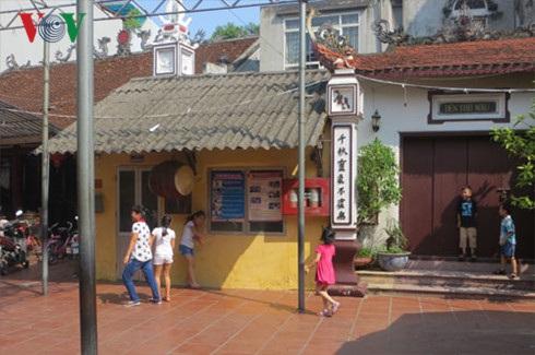 Trường tiểu học Nguyễn Bá Ngọc, quận Ba Đình, Hà Nội nằm sát cạnh đình Kim Mã Thượng